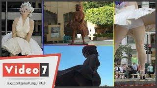 مارلين مونرو المصرية فى دار الأوبرا تثير عاصفة سخرية على