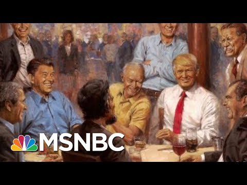 Xxx Mp4 President Donald Trump Has Added Some Interesting Art To The White House All In MSNBC 3gp Sex
