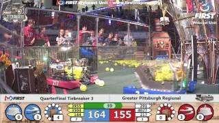 Quarterfinal Tiebreaker 3 - 2017 Greater Pittsburgh Regional