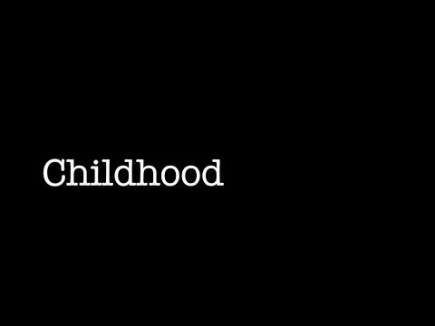 Childhood- A Short Film-WINNER:BEST DOCUMENTARY 2015 Teen Faith Film Festival
