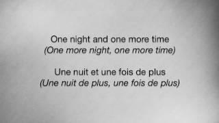 Thnks fr th Mmrs - Fall Out Boy Lyrics English/Français