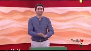 محمد رضا علی مردانی در برنامه خندوانه 1394/02/25---افتخار می کنم که استادمه*