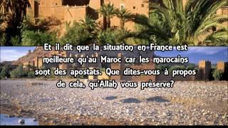 Hijra au Maroc ou pas - cheikh 'Ubayd al Jabiri