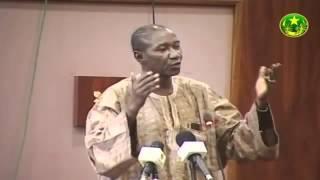 Intervention député Langue Samba Pulaar