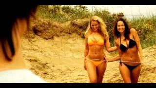 Hot bikini girls getting hot and kiss