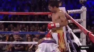 HBO: Manny Pacquiao vs Timothy Bradley III FULL FIGHT | Tim eats Canvas 2xs, hurts MP (ego REVIEW)