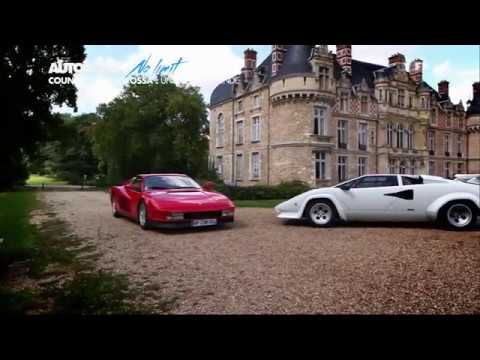 Duel de légendes Lamborghini Countach vs Ferrari Testarossa