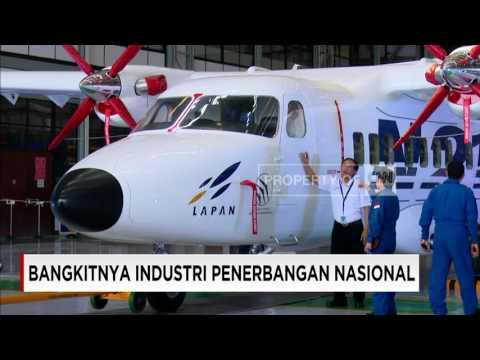 Gairah Industri Penerbangan Nasional Pesawat N219