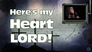 Here is My Heart - Crowder - Lyrics