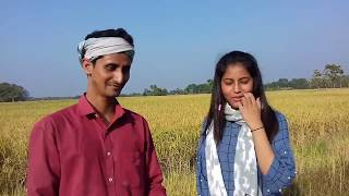 Amazing Experience// Cutting Grass In The Peddy Field//Dipankar Sarma
