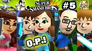 FGTEEV Super Smash Bros Wii U Family Mii Battle! Skylander Dad is O.P.! Part 5