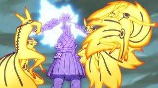 Naruto vs Sasuke Full Fight Final Battle (Eng Dub) HD