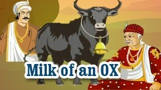 Akbar And Birbal | Milk of an OX | English Animated Stories For Kids
