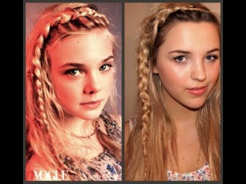 Teen Vogue Hair & Makeup! Elle Fanning