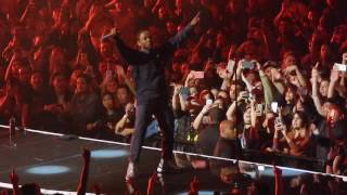 The Weeknd & Kendrick Lamar - Sidewalks and HUMBLE. (Live at the L.A. Forum - 04/29/17)