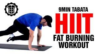 9 min Tabata Fat Burning Home Workout - HIIT Cardio - Sixpack Factory