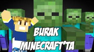 Burak Minecraft'ta - EVİMİZİ BASTILAR - Bölüm 4 - Sezon 2