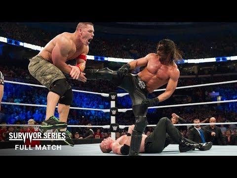 FULL MATCH - Team Cena vs. Team Authority - Elimination Tag Team Match: Survivor Series 2014