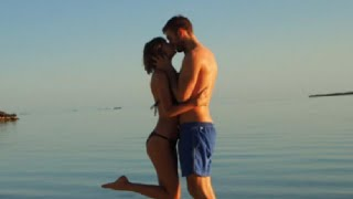 Taylor Swift & Calvin Harris Kiss On Romantic Vacation!