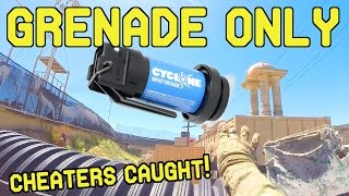 Grenade ONLY Challenge (Airsoft Innovations Cyclone Impact Grenade)