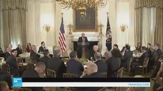 """الرئيس الأمريكي يعلن عن زيادة """"تاريخية"""" في النفقات العسكرية"""