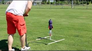 Making a Water Bottle Rocket Launcher | VQC