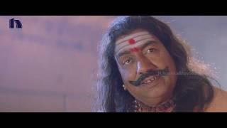 madhu shalini meets swamiji   kalpana guest house horror movie scenes