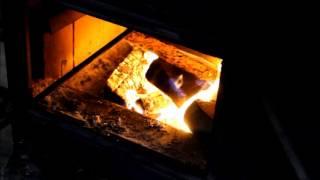Wood Stove Stoking