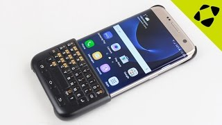 Official Samsung Galaxy S7 Edge Keyboard Cover Case Review - Hands On