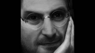 Drawing the Late Steve Jobs on my iPad, using Brushes App.