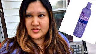 Clairol Shimmer Lights Purple Shampoo Before And After Review + Demo.