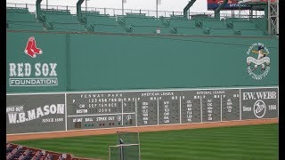 MLB Hits off the Green Monster