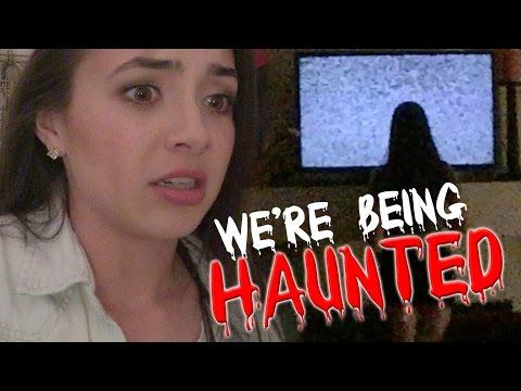 We're Being HAUNTED - MERRELL TWINS - Halloween 2015