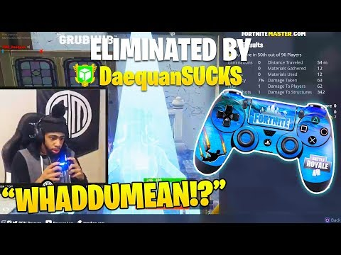 Xxx Mp4 Daequan First Time Using CONTROLLER On Fortnite Hilarious Solo Matches 3gp Sex