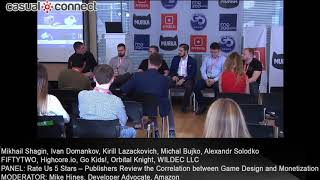 Rate Us 5 Stars – Publishers Review the Correlation between Game Design and Monetization | PANEL