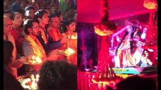 Aamir Khan Attending Durga Puja Video 2017