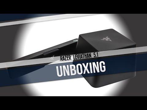 Unboxing Test et Présentation FR RAZER LEVIATHAN 5.1
