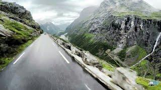 Beautiful Trollstigen drive, Norway - 4K Ultra HD