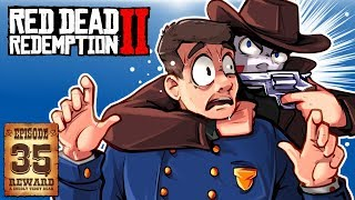 CATCHING LEGENDARY FISH & SAVING JOHN! - RED DEAD REDEMPTION 2 - Ep. 35!