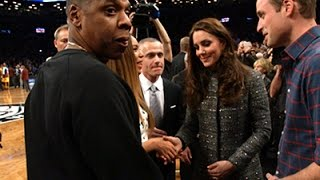 Raw: Prince William, Kate Meet Jay Z, Beyonce
