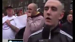 Muslamic Ray Guns! Original Press TV interview with EDL Spokesman