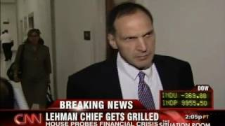 Lehman CEO Defends His $500M Bonuses That He Got From His Bankrupt Company