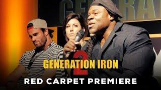 Generation Iron 2 Red Carpet Premiere Q & A | Kai Greene, Calum Von Moger, Rich Piana