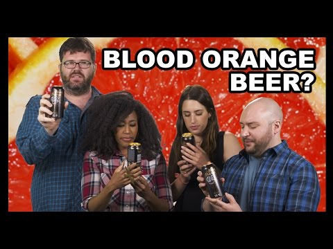 Beer with Blood Orange Juice?!?!?! - Why Would You Drink That?
