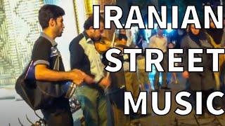 Street musician in Shiraz, Iran