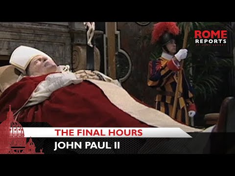 the final hours of pope john He underwent five hours of surgery to treat his final months pope john paul ii was hospitalised with breathing problems caused by a bout of influenza on 1.