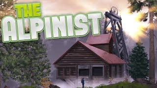 The Alpinist - A Rock Climbing Adventure - When Eagles Attack! - The Alpinist Pre-Alpha Gameplay