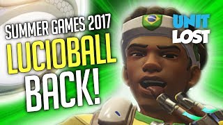 Overwatch - Lucioball is BACK! - Summer Games 2017!