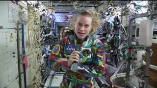 NASA Astronaut Talks with Cancer Patients about Cancer Research on the International Space Station