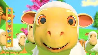 Mary Had A Little Lamb | Best Sing-Along Cartoon Nursery Rhymes | Songs for Kids by Little Treehouse